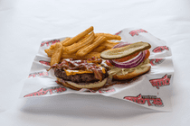 St.Louis Menu: BACON CHEESE BURGER