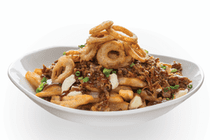 St.Louis Menu: PULLED PORK POUTINE