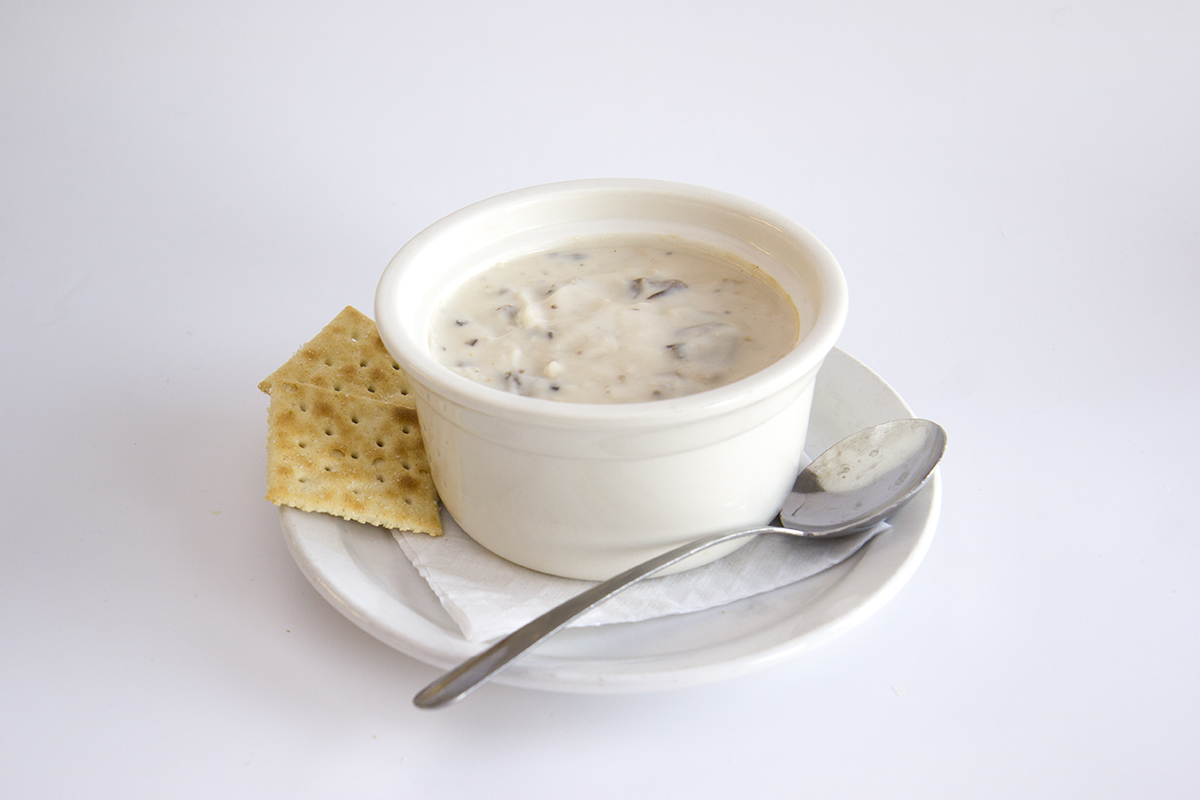 St.Louis Menu: Cream of Mushroom Soup