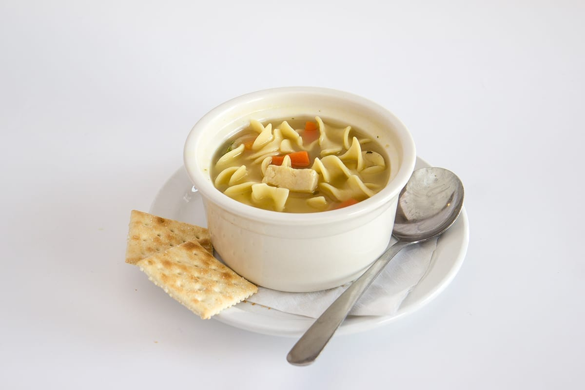 St.Louis Menu: CLASSIC CHICKEN NOODLE SOUP