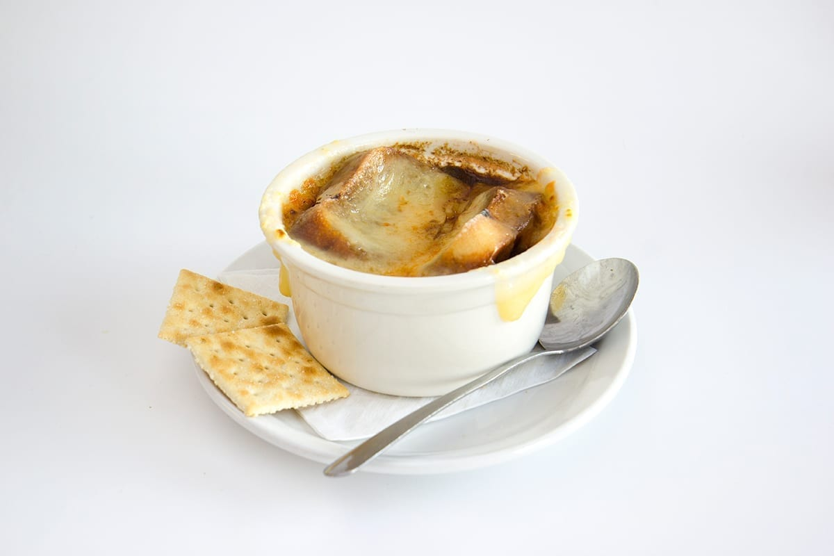 St.Louis Menu: FRENCH ONION SOUP